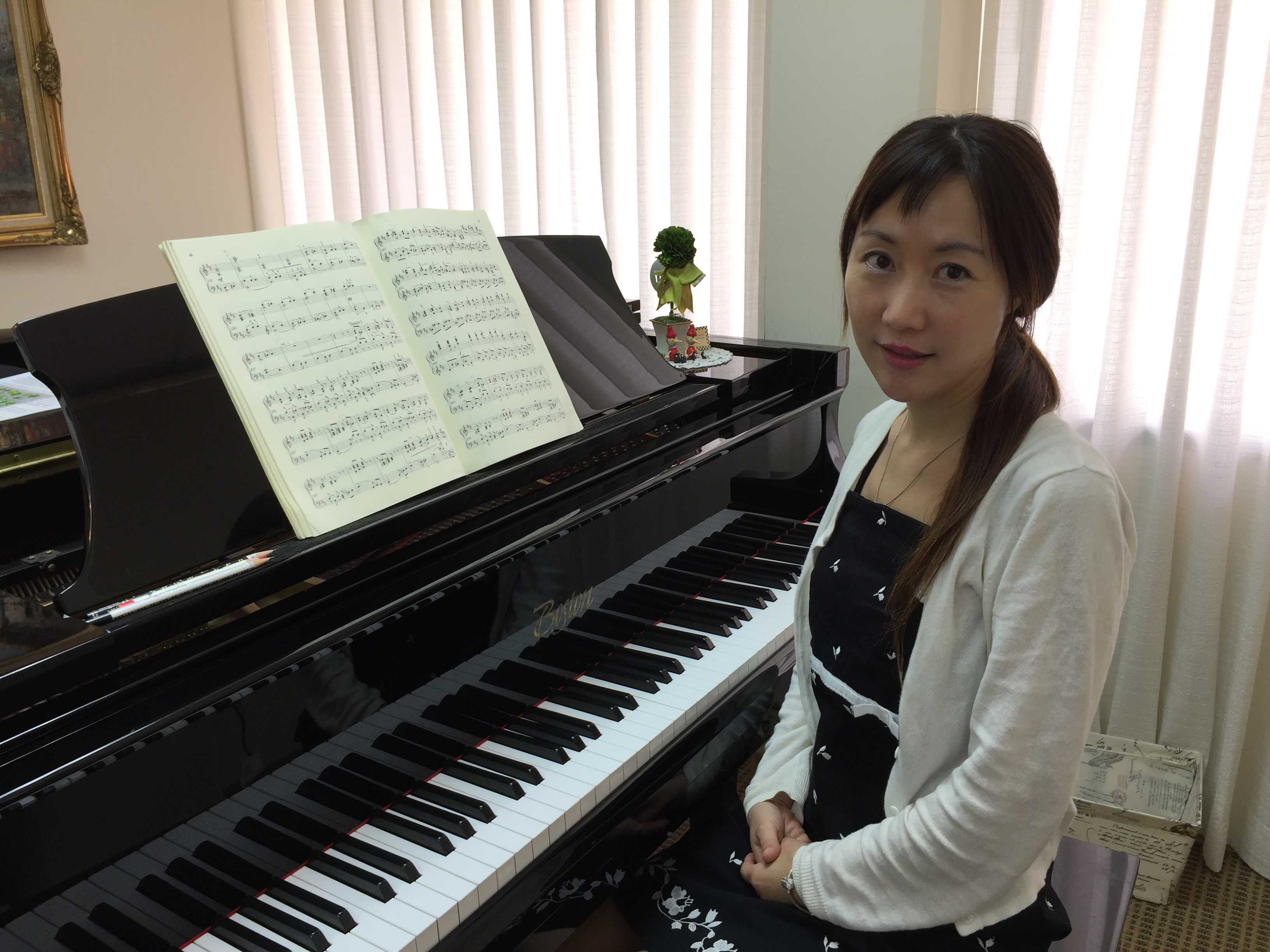 Introducing new piano teacher Miss Liz!