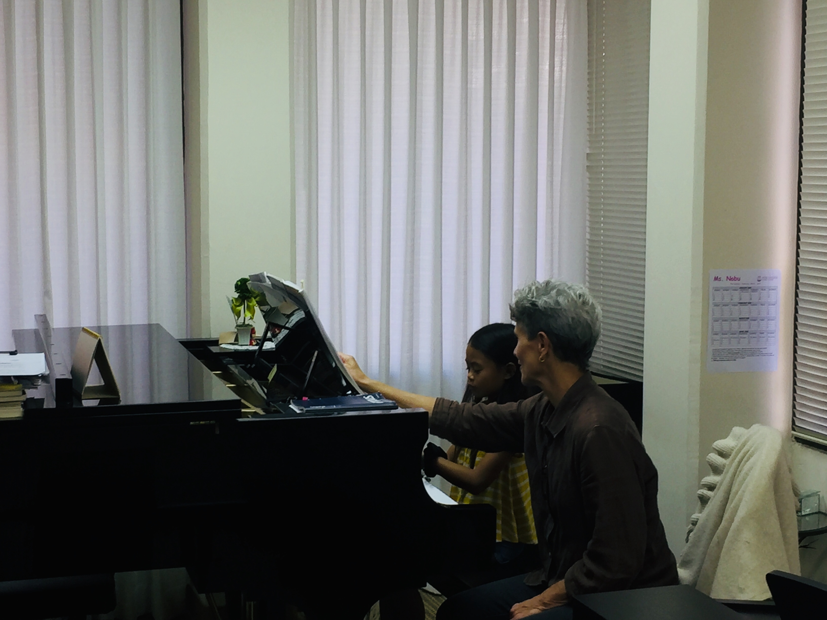 Weekend piano lesson openings!